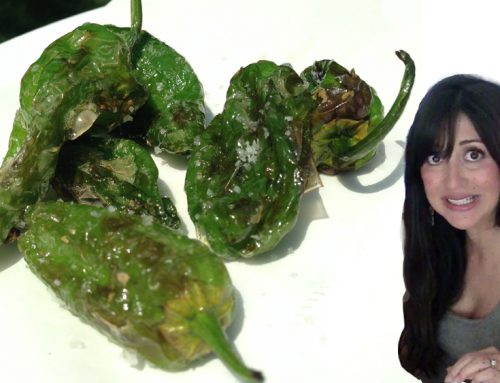 Video and Post: Padrón or Shishito Peppers Live Challenge