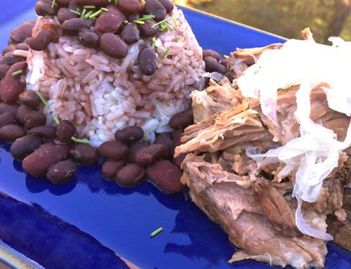 Crockpot Cuban Mojo Pork – I am back!